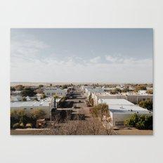 Marfa, Texas Overview Canvas Print