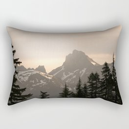 Adventure in the Mountains - Nature Photography Rectangular Pillow