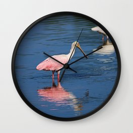 Taking Things in Stride Wall Clock