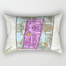 Enter at Your Own Risk Doorway to a New World Rectangular Pillow