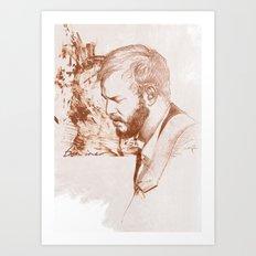 Bon Iver (Justin Vernon) Art Print