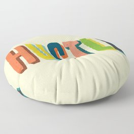 Hustle Floor Pillow