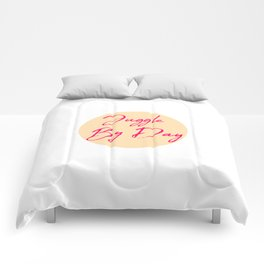 Juggle by Day Fun Juggling Quote Comforters