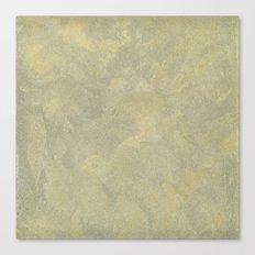 Modern Masters Metallic Plaster - Aged Gold and Silver Fox - Custom Glam Canvas Print