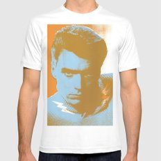 clint Mens Fitted Tee White MEDIUM