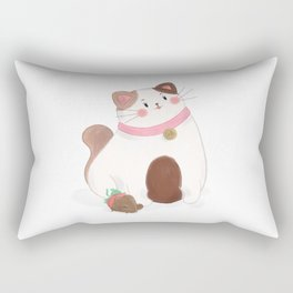 Cake and friend Rectangular Pillow