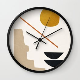 abstract minimal 6 Wall Clock
