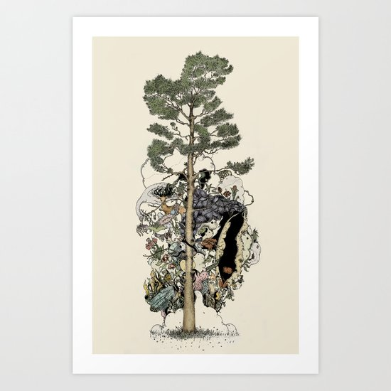Everdream Pine Art Print