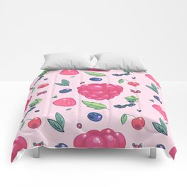 Berry pattern Comforters