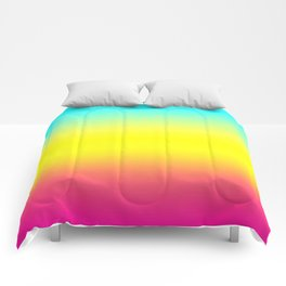 Ombre Magical Rainbow Unicorn Colors Comforters