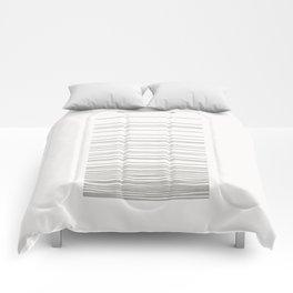 Linear Gradation - Ash Comforters