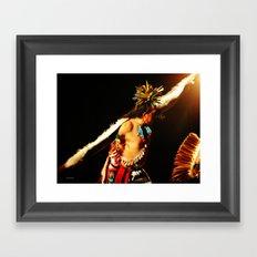Eagle Dancer III Framed Art Print