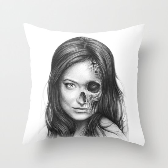 Thirteen from House MD Throw Pillow
