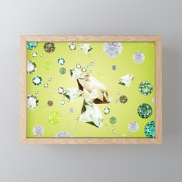 The diamond galaxy 2 Framed Mini Art Print