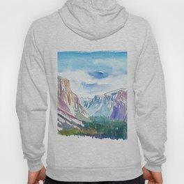 USA National Park Yosemite El Capitan Hoody