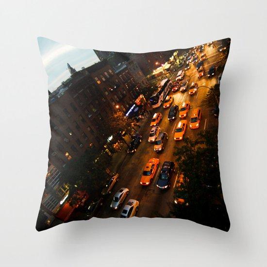 9th Avenue Throw Pillow
