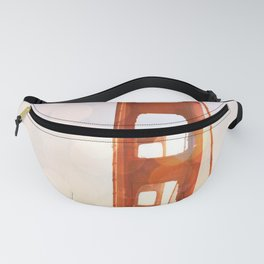 GOLDEN GATE BRIDGE - ABSTRACT Fanny Pack