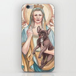 Our Blessed Rebel Queen iPhone Skin