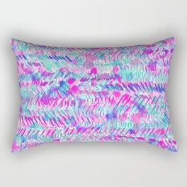Fervor (Turquoise)  Rectangular Pillow
