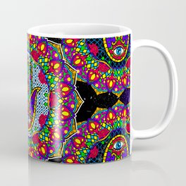 Hamsa Harmony Mandala Coffee Mug