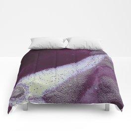 Metallic Watercolor - Garnet/Moonstone Comforters