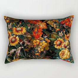 Midnight Garden VII Rectangular Pillow