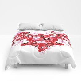 love flovers Comforters