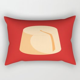 MADE IN MOROCCO #04-THE HAT Rectangular Pillow