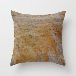 Unconformity Throw Pillow