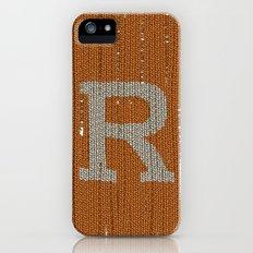 Winter clothes. Letter R. iPhone (5, 5s) Slim Case