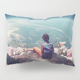 My World Blossomed when I Loved You Pillow Sham