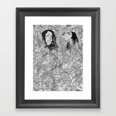 let's meet at Springtime Framed Art Print
