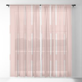 Organic / Blush Sheer Curtain