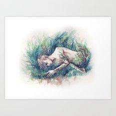 adam parrish - magician Art Print