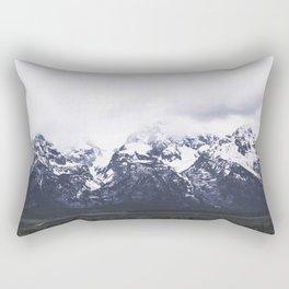 Grand Teton Mountains Rectangular Pillow