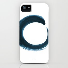 Enso Serenity No.6q by Kathy Morton Stanion iPhone Case