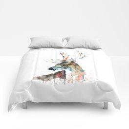 Deer - Fallow Deer Comforters