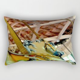 Dancing Horses! Rectangular Pillow