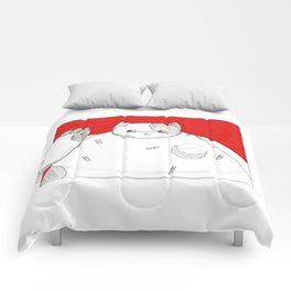 What if Baymax was a Cat Comforters