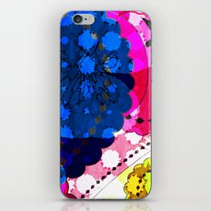 Paisley Pansie iPhone & iPod Skin