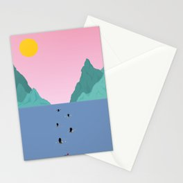 Against The Current Stationery Cards