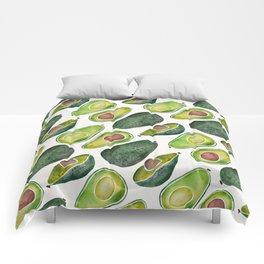 Avocado Slices Comforters