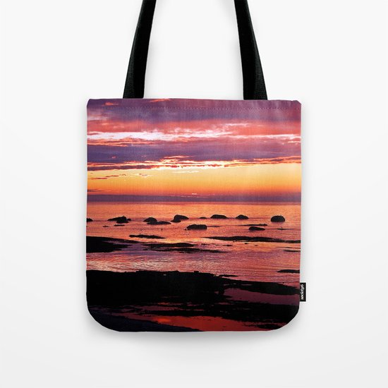 Sainte-Anne-Des-Monts Signature Sunset Tote Bag