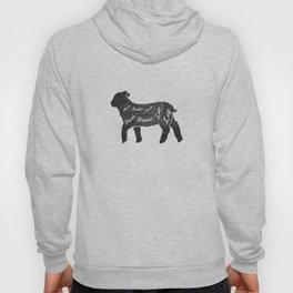 Lamb Butcher Diagram-Sheep Hoody