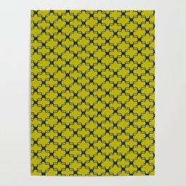 Lemon Emerald Poster