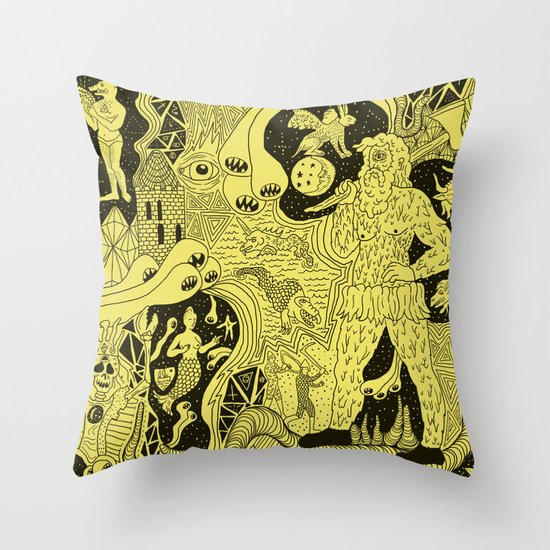 Wizard Dreams Throw Pillow