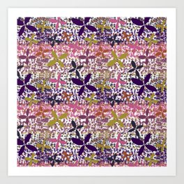 Floral Dots of Whimsy Art Print