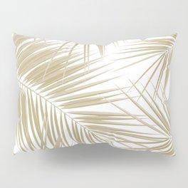 Palm Leaves - Gold Cali Vibes #6 #tropical #decor #art #society6 Pillow Sham