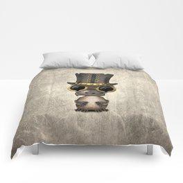 Steampunk Baby Platypus Comforters