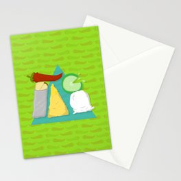 Feed Me- Taco 3 Stationery Cards